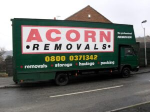 Acorn Removals. Home and office removals in Sheffield and South Yorkshire